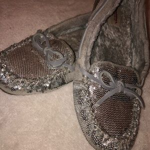 Sparkly Moccasins